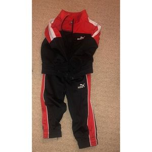 Sweat suit for toddler